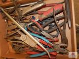 Flat of pliers,, various sizes & styles