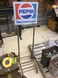 Pepsi display cart