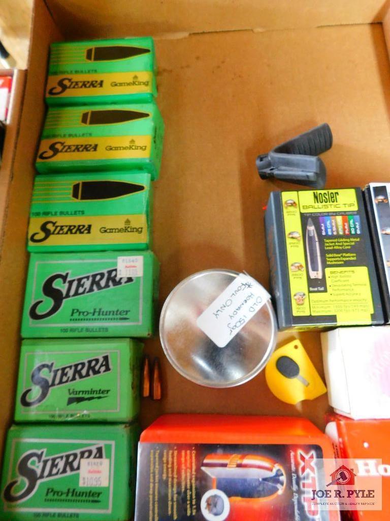 Lot: lot of bullets: 25 cal, 270 cal, 10mm   Proxibid Auctions