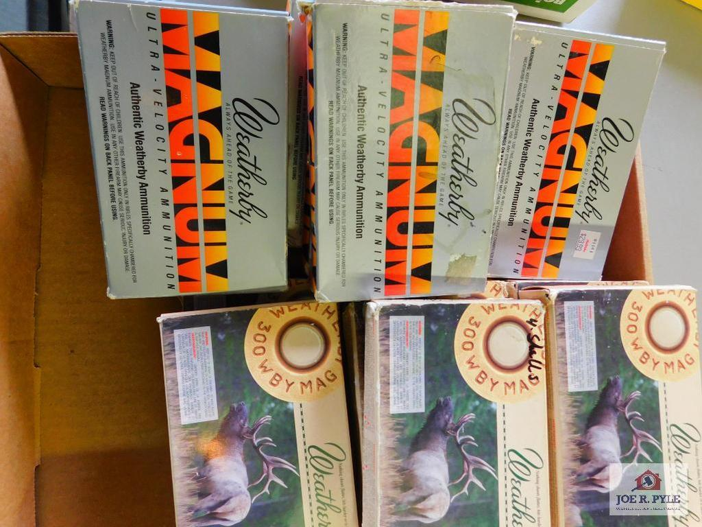 15 boxes of .300 WBY mag