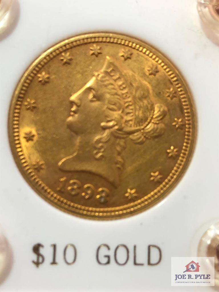 1898 Liberty Gold Coin