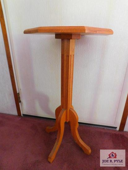 Hand crafted plant stand (Denzil Ware )