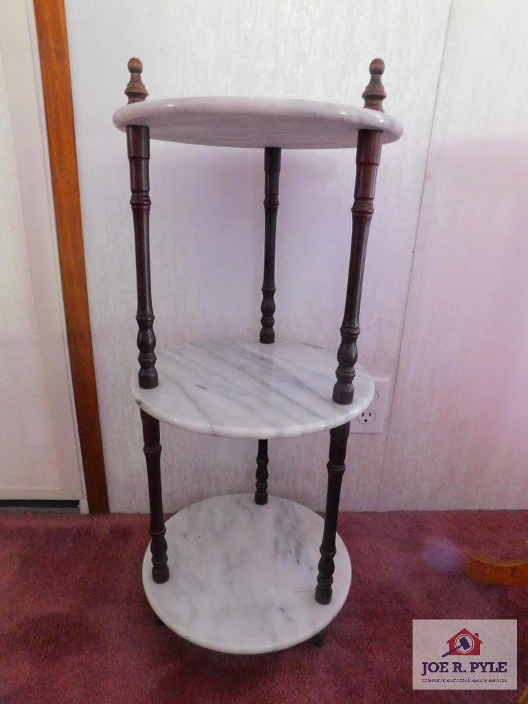 3 tier marble stand