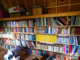 Large collection of books and magazines: self help, religious, mysteries