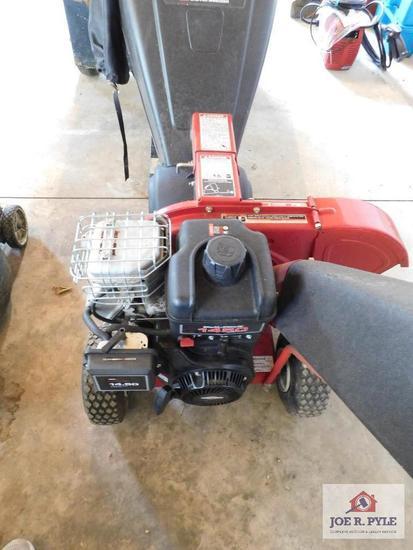 Craftsman gas powered chipper, shredder