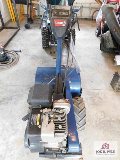5HP,gas powered rear tine tiller