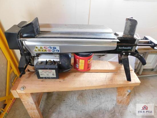 5 ton electric log splitter w/stand