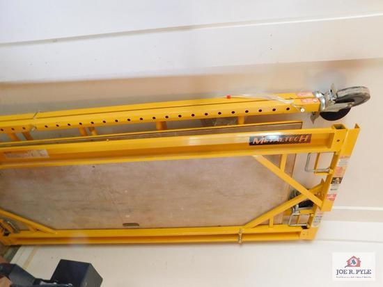 Scaffold 6x30x7 ft. locking casters, adj. platform