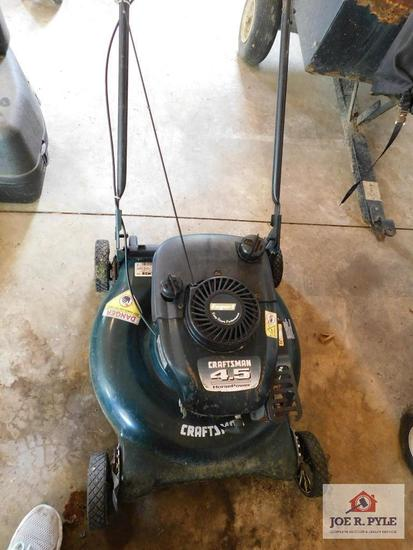 """Craftsman 21"""" mulching mower w/grass catcher"""
