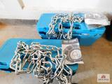 2 sets tire chains 17
