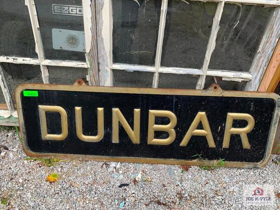 Dunbar Sign