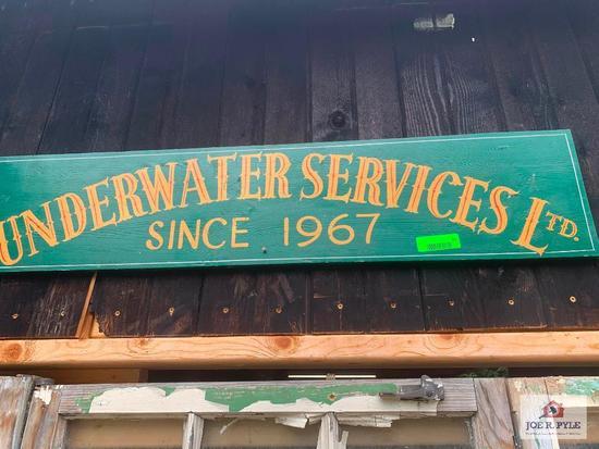 Underwater Service Ltd Limited Sign