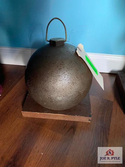 Cannon Ball 1863