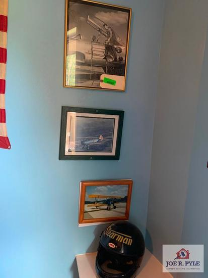 Airplane Photos And Helmet