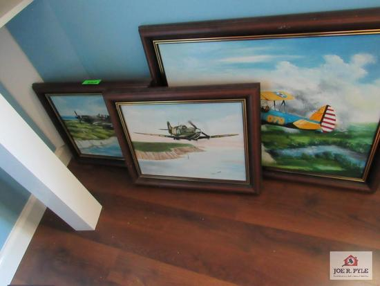 Airplane Artwork (3 Count)