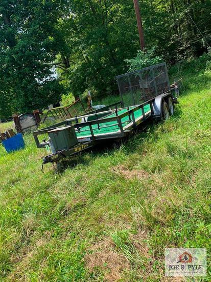 16 FT Big Tex utility trailer