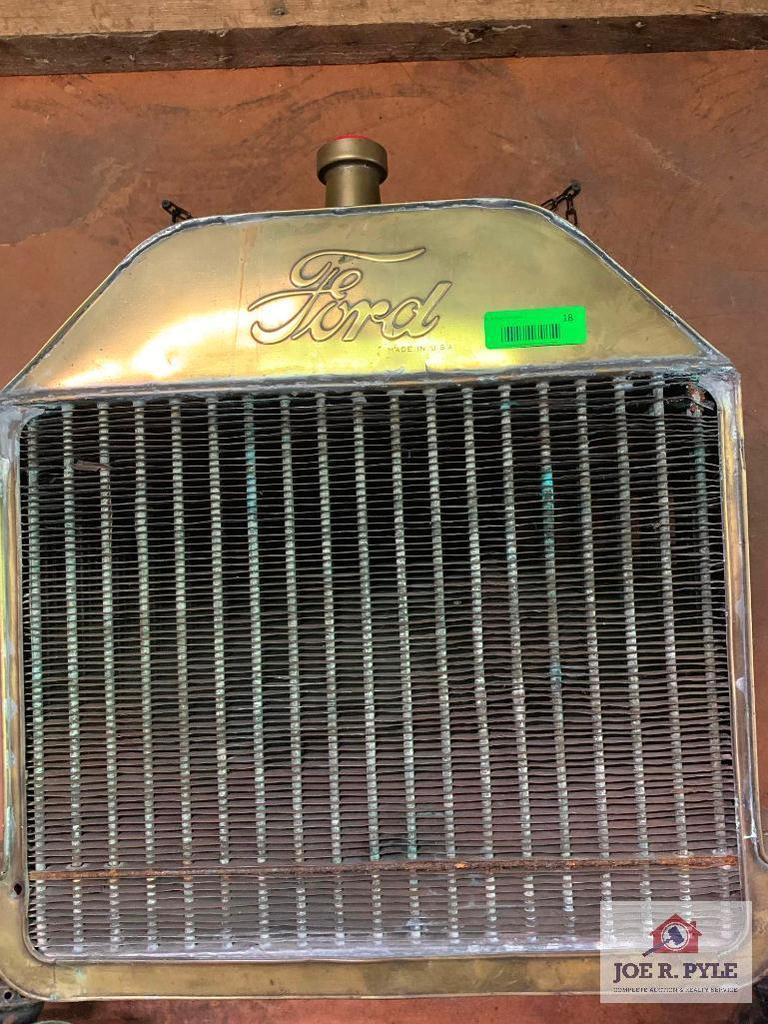 Brass Ford Radiator
