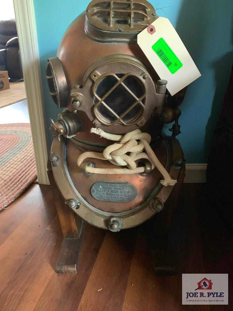 Diving Helmet Us Navy (Mark V)