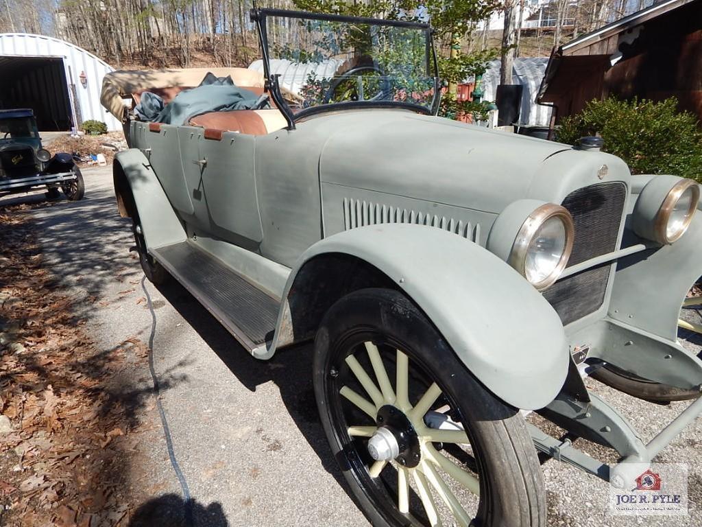 1921 Nash convertible