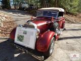 Rare 1934 Mercedes 290 Cabriole