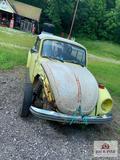 1970's Beetle yellow