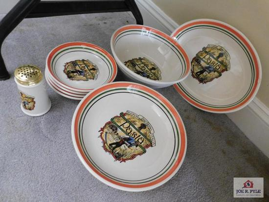 Pasta bowls and platters