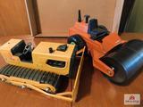 Tonka T-6 bulldozer & Nylint road roller
