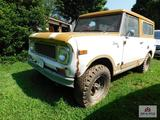 71 International Scout Comanche, 4 Wheel drive, lockout hubs,59,929 miles not confirmed