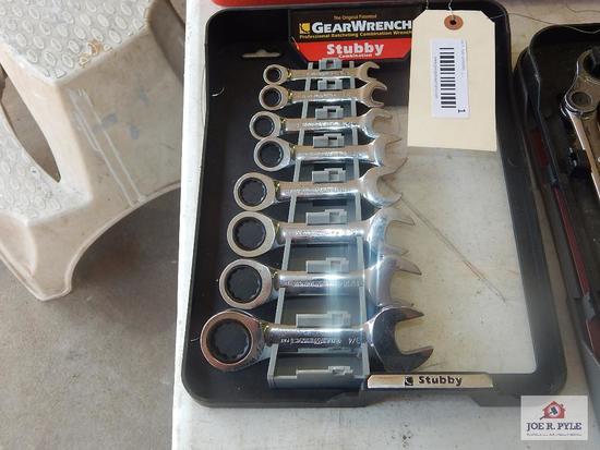 Gear wrench stubby standard