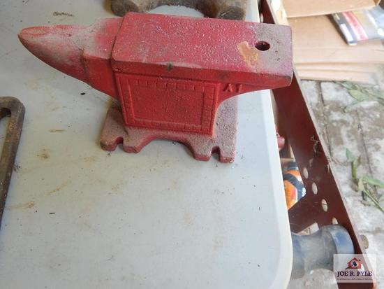 Small red anvil