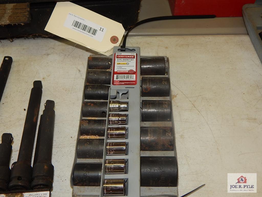 2 Craftsman metric socket set