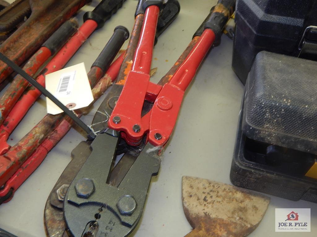 2 High tensile fence crimpers