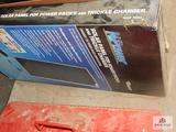 Power 10 watt solar panel for power pack NIB