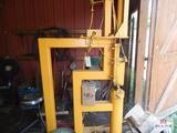 Yellow air powered hammer