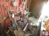 Hand tool sledge hammer stool, etc.