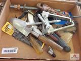 1 Flat of misc. tools