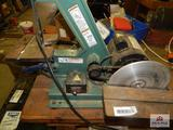 Grizzly combination belt & disc sander