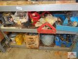 Shelf and content fence supplies