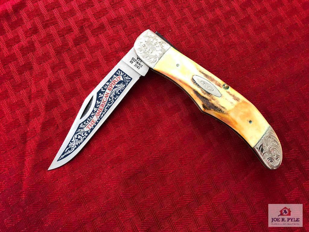 Case 1976 Bicentennial #5165 SSP Pocket Knife w/Display (#1199)