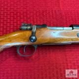 Mauser 1955 Sporter 8mm   SN: 21-3299   Comments: PARTIALLY MATCHING NUMBERS; DRILLED RECEIVER