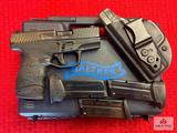 Carl Walther PPS 9x19mm   SN: AO1921   Comments: WITH BOX; 4 TOTAL MAGAZINES, HOLSTER