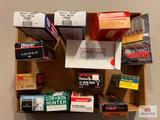 Flat of various handgun ammo