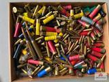 Flat of misc. unboxes and uncategorized ammo: .50 cal, 6,5 Jap, .45 ACP, .22 LR, .22 S, shotgun