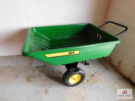 John Deere 8Y cart