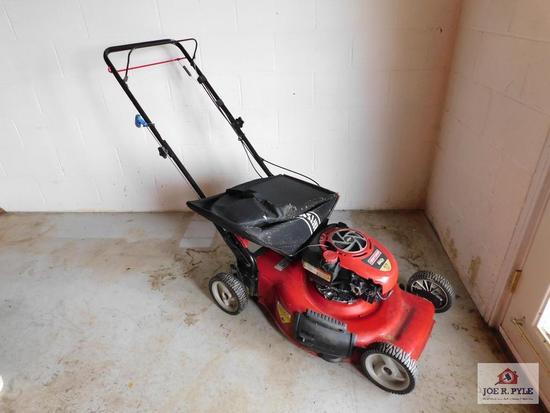 Craftsman mower w/ bag