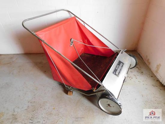 Sears 30'' trailer lawn shredder