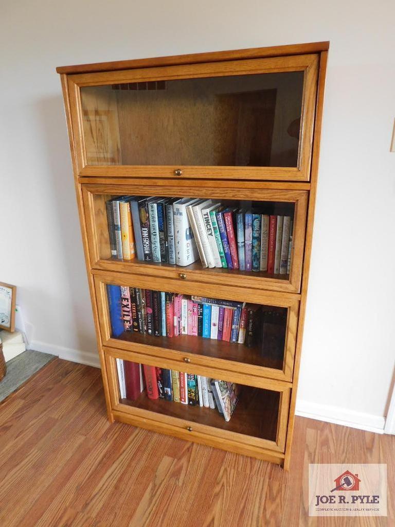 Modern stack bookcase