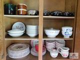 Pfaltzgraff apple dishes, plates, bowls & covered soups