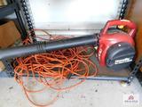 Homelite leaf blower & cord