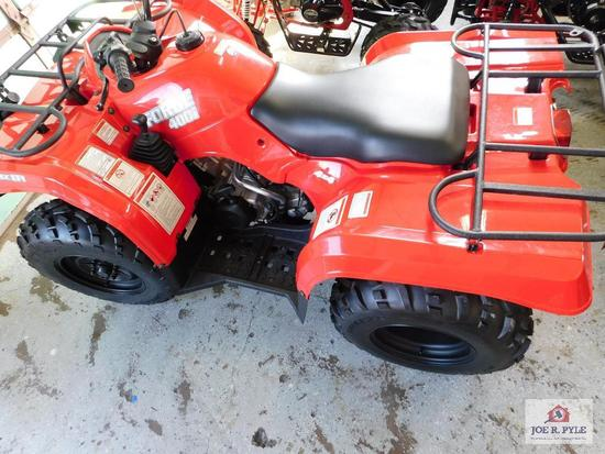 HiSun Forge 400i (4 wheeler) VIN-LWGSDSZ78JA000056